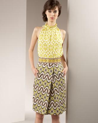 Tory burch isadora skirt