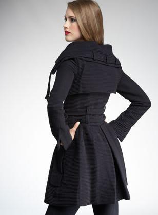 Nanette Lepore Posion Ring Coat Back