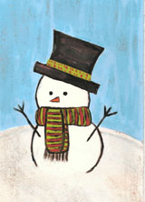 Holiday-snowman-hill