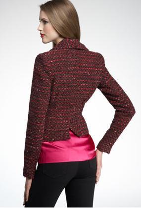 Nanette Lepore Contessa Jacket Back